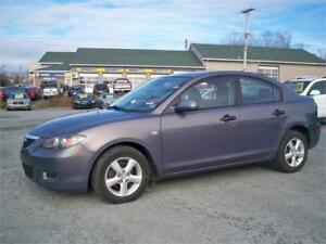 LOW MILEAGE CAR!!! 50000 KM AUTOMATIC MAZDA 3 FOR SALE !FINANCIN