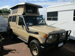 1985 Toyota Landcruiser Toyota Beige Manual Campervan St James Victoria Park Area Preview