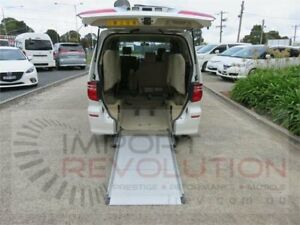2005 Toyota Alphard ANH10W G White Automatic Van Wagon Bayswater Knox Area Preview