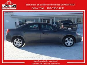 2007 Pontiac G6 SE LOW LOW KMS ONLY 69206 kms! 2 set tires