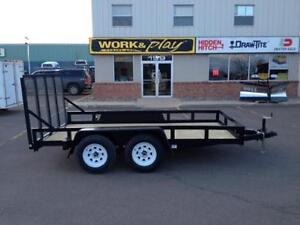 "2016 Cam Superline 76"" x 12' Landscape/ATV Trailer"
