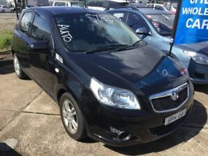 2010 Holden Barina TK MY11 Black 4 Speed Automatic Hatchback Wickham Newcastle Area Preview