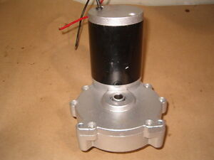 GEAR MOTOR 12 VOLT 150-160 RPM 180 WATT WITH OUTPUT SHAFT Prince George British Columbia image 2