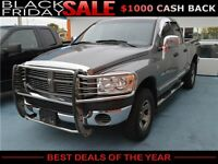 2007 Dodge Ram 1500 SLT Quad Cab 4WD Pickup ,$zero down!