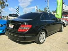 2009 Mercedes-Benz C200 Kompressor W204 Sports Black 5 SPEED Semi Auto Sedan Southport Gold Coast City Preview