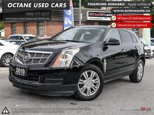 2010 Cadillac SRX 3.0 Luxury ACCIDENT FREE! ONTARIO VEHICLE!