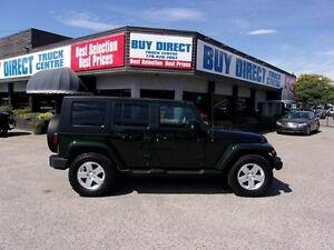 2010 Jeep Wrangler Unlimited Sahara 4dr 4x4