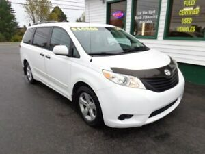 2011 Toyota Sienna LE for $189 bi-weekly over 3 years!