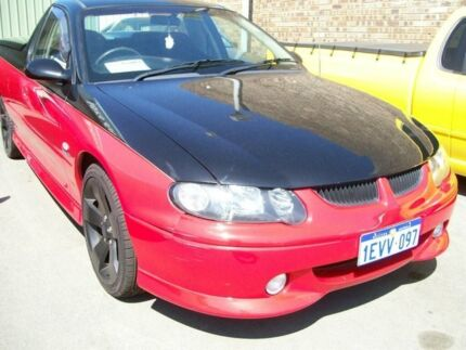 2002 Holden Ute VY 5.7 SUPERCHA SS Red 6 Speed Manual Utility Wangara Wanneroo Area Preview