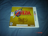 LEGEND OF ZELDA OCARINA OF TIME 3D NINTENDO 3DS NEUF SEALED