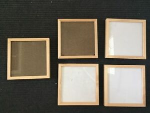 FIVE PICTURE FRAMES ($1 each)