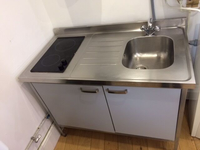 Ikea kitchen unit sink fridge hob cupboard in tower bridge london g - Ikea kitchenette frigo ...