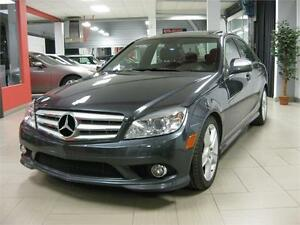 2009 Mercedes Benz C300 4MATIC, 77528Km, 90$/sem. TOUT INCLUS!