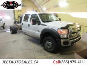 2012 Ford Super Duty F-550 DRW XLT Crew Cab & Chassis