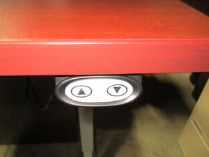 Sit Stand Height Adjustable Table Desk Peterborough Peterborough Area image 3