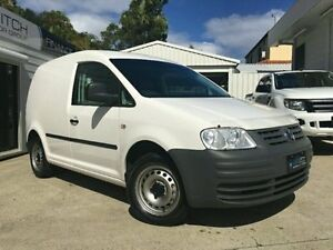 2008 Volkswagen Caddy 2KN SWB White Manual Van Southport Gold Coast City Preview