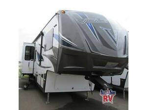 2016 VOLTAGE 3605 - TOYHAULER FIFTH WHEEL