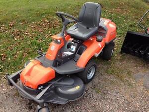 Husqvarna R 322T AWD Articulating Mowers In Stock, 2 to choose from, Both with Snowblowers 1 DEMO unit, 1 USED unit