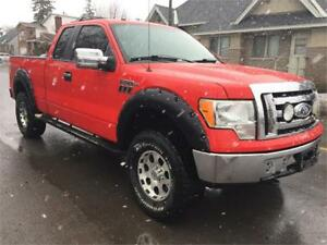 Ford F  Xlt Supercab Lifted