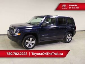2017 Jeep Patriot HIGH ALTITUDE; CAR STARTER, SUNROOF, LEATHER,