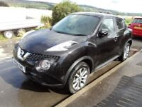 Nissan Juke Tekna diesel, top of the range, only 7967 miles like new £10600