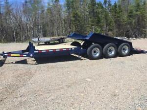 LWL equipment, landscape and deck trailers