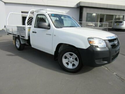 2008 Mazda BT-50 08 Upgrade B2500 DX White 5 Speed Manual Cab Chassis Clyde Parramatta Area Preview