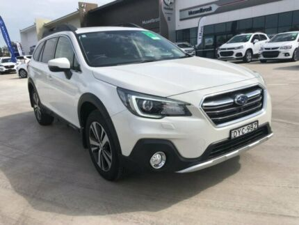 2018 Subaru Outback B6A MY18 2.5i CVT AWD Premium White 7 Speed Constant Variable Wagon Muswellbrook Muswellbrook Area Preview