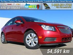 2013 Chevrolet Cruze LT Turbo Low KM | PST Paid | USB