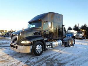 2009 MACK PINNACLE, COMES WITH SAFTEY & EMISSION TEST
