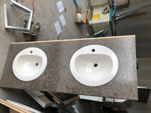SELLING OUT!!!! Countertop with sinks, Urinal, hand dryers etc!