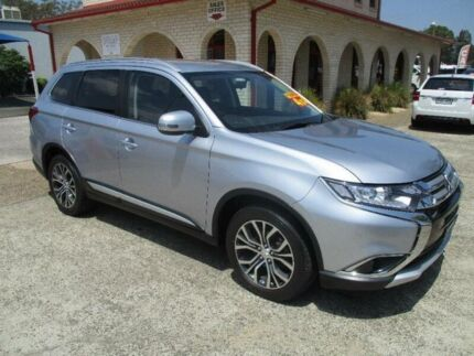 2017 Mitsubishi Outlander ZK MY17 LS 4X4 7 SEAT Silver Continuous Variable Wagon South Nowra Nowra-Bomaderry Preview