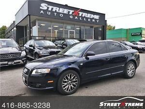 2008 Audi A4 2.0T BOSE SOUND SYSTEM, S-LINE, SUNROOF, LEATHER