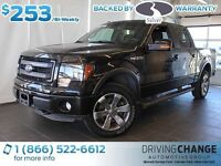 2013 Ford F-150 FX4-Backup Sensors-Sync-Power Driver Seat