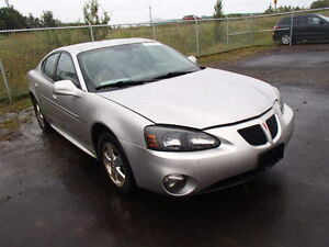 parting out 2006 pontiac grand prix