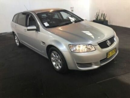 2012 Holden Commodore VE II MY12 Omega Silver 6 Speed Automatic Sportswagon Clemton Park Canterbury Area Preview