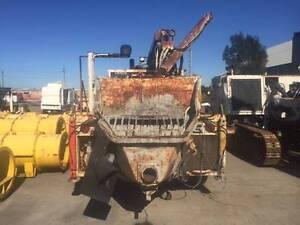 JACON S63E CONCRETE PUMPS Milperra Bankstown Area Preview