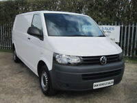 VOLKSWAGEN TRANSPORTER 2.0 TDi 140PS LWB T30 WHITE 2011 (11) A/C / DOG CARRIER!!