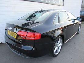 AUDI A4 2.0 TDI SE 4d AUTO 141 BHP (black) 2012