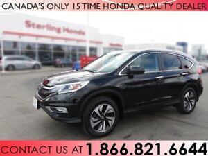 2016 Honda CR-V TOURING | AWD | 1 OWNER | NO ACCIDENTS | LOW KM'