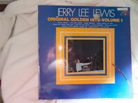 Vinyl LP Original Golden Hits Volume 1 – Jerry Lee Lewis Sun 6467 002 Stereo