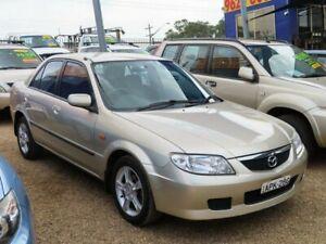 2003 Mazda 323 BJ II-J48 Protege Shades Beige 4 Speed Automatic Sedan