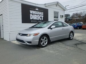 2006 Honda Civic COUPE LX 5 SPEED 1.8 L*SPARE SET OF TIRES*