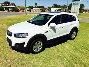 2012 Holden Captiva CG MY13 7 SX (FWD) White 6 Speed Automatic Wagon Maddington Gosnells Area Preview