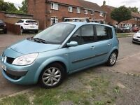 Renault Scenic, 57, Blue, Good Condition with Tow Bar! Full Service History!