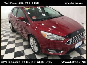 2015 Ford Focus Titanium - Heated Leather, Rear Camera & Remote