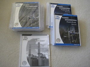 NEW - Fourth Class Power Engineering Edition 2.5 Books