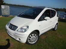 2002 Mercedes-Benz A160 Avantgarde White Automatic Hatchback Lansvale Liverpool Area Preview