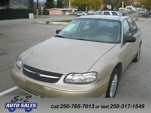 2002 Chevrolet Malibu local one owner low km!