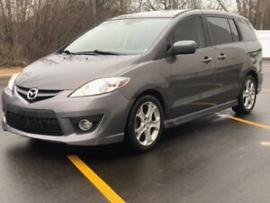 2010 Mazda5 Automatic, Certified, Leather, DVD, Bluetooth